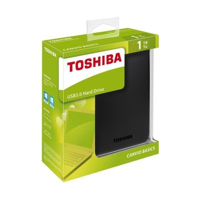 HDD TOSHIBA 1TB, 2.5'' CANVIO BASIC 3.0