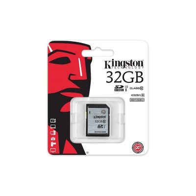 KINGSTON FLASH CARD 32 GB CL10