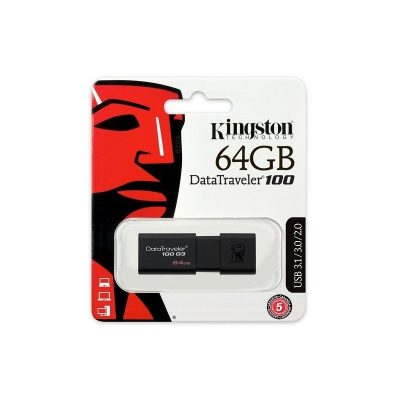 KINGSTON USB PEN DRIVE 64 GB DTI USB 3.0